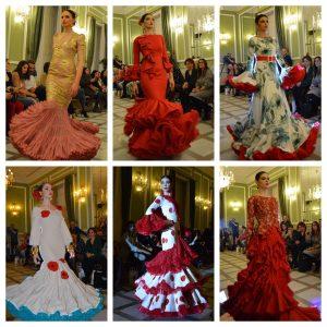 Desfile moda flamenca