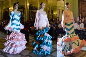 Rosapeula moda flamenca