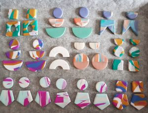 Coleccion de moda de pendientes Úrsula Padima