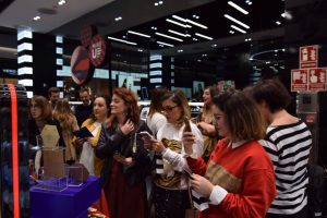 Ursula Padima presenta su nueva coleccion de pendientes en Sephora Granada
