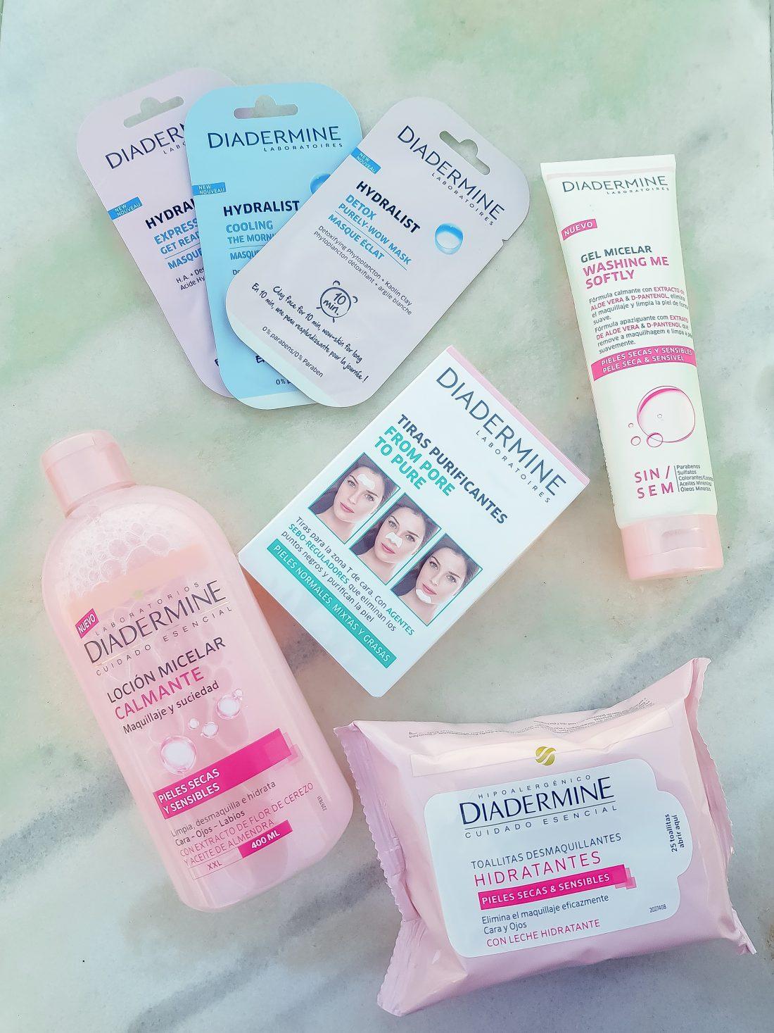 Mi rutina facial con Diadermine