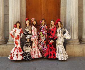 Colección Flamenca Estrella Sánchez Flamenca, traje de flamenca Granada