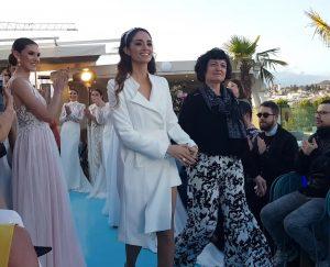 Claudina Mata, desfile nupcial en Hotel Barcelo Carmen Granada